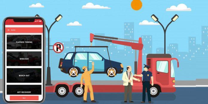 tow truck app development
